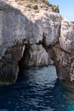 Puerta de mar - formación de roca Fotografía de archivo