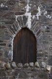 Puerta de Medeaval Fotografía de archivo