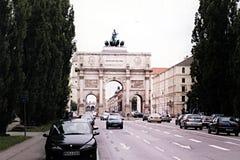 Puerta de Munich Fotos de archivo