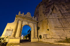 Puerta de Nápoles en la manera de Appian Imagen de archivo