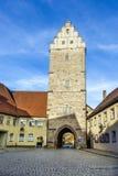 Puerta de Noerdlinger en Dinkelsbuehl Imagen de archivo