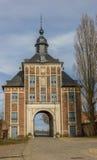 Puerta de Norbertus en la abadía del parque en Lovaina Foto de archivo