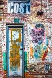 Puerta de NYC Fotos de archivo
