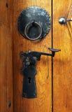 Puerta de Ornated fotografía de archivo libre de regalías