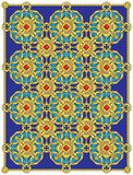 Puerta de oro Imagen de archivo