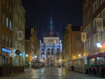 Puerta de oro en Gdansk. Imagen de archivo