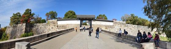 Puerta de Osaka Castle, Osaka Fotos de archivo libres de regalías