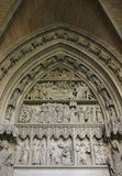 Puerta de Pamoplona Imagenes de archivo