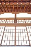 Puerta de papel de desplazamiento japonesa Fotos de archivo