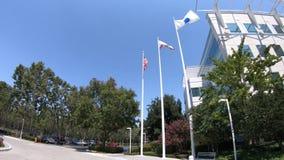 Puerta de Paypal en San Jose almacen de metraje de vídeo