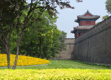Puerta de Pekín Foto de archivo libre de regalías