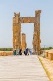 Puerta de Persepolis de naciones fotografía de archivo