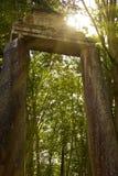 Puerta de piedra Foto de archivo