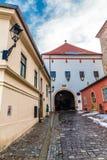 Puerta de piedra - Zagreb, Croacia fotos de archivo