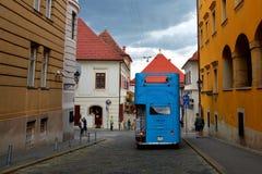 Puerta de piedra de Zagreb - Kamenita Vrata en Zagreb, Croacia foto de archivo libre de regalías
