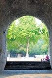 Puerta de Qingliang Foto de archivo libre de regalías