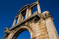 Puerta de s de Hadrian ' Fotografía de archivo