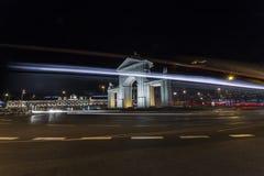 Puerta de San Vicente Принчипе Pio y Стоковая Фотография
