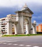 Puerta De San Vincente, Madryt, Hiszpania zdjęcie stock