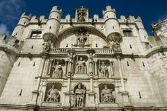 Puerta de Santa María de Burgos Immagine Stock Libera da Diritti