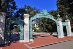 Puerta de Sather fotografía de archivo libre de regalías