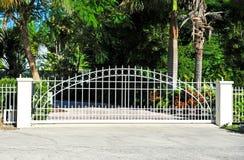 Puerta de seguridad Fotos de archivo