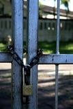 Puerta de seguridad Imagenes de archivo