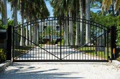 Puerta de seguridad Fotografía de archivo