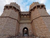 Puerta de Serranos Fotos de archivo libres de regalías
