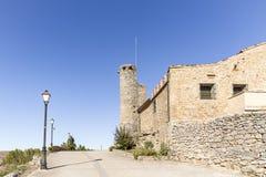 Puerta de Sollera entrance gate in Retortillo de Soria town. Province of Soria, Spain Royalty Free Stock Photo