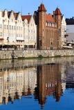 Puerta de Straganiarska en Gdansk Fotografía de archivo