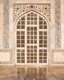 Puerta de Taj Mahal Fotografía de archivo