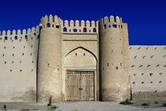 Puerta de Talipach de Bukhara antigua Fotos de archivo libres de regalías