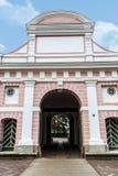 Puerta de Tallinn en Parnu foto de archivo libre de regalías