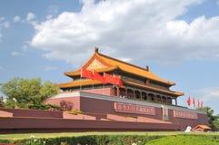 Puerta de Tian-An-Men, Pekín Imagen de archivo libre de regalías