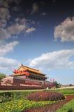 Puerta de Tian-An-Men, Pekín Fotografía de archivo libre de regalías