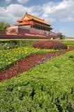 Puerta de Tian-An-Men, Pekín Fotos de archivo