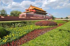 Puerta de Tian-An-Men, Pekín Imágenes de archivo libres de regalías