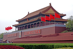 Puerta de Tian-An-Men, Pekín Fotografía de archivo