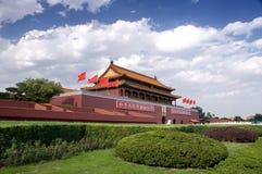 Puerta de Tian-An-Men, Pekín Imagenes de archivo