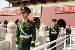 Puerta de Tiananmen Fotografía de archivo libre de regalías