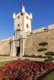 Puerta de Tierra in Cadiz Stock Image