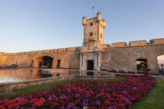 Puerta de Tierra in Cadiz Stock Photography