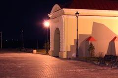 Puerta de Tobolsk en Omsk, Siberia Fotografía de archivo