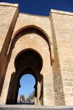 Puerta De Toledo à Ciudad Real, Espagne Photos stock