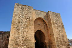 Puerta De Toledo à Ciudad Real, Espagne Photo stock