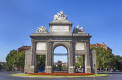 Puerta de Toledo Royalty Free Stock Photos