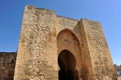 Puerta de Toledo a Ciudad Real, Spagna Fotografia Stock