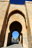 Puerta DE Toledo in Ciudad Real, Spanje Stock Afbeelding