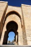 Puerta DE Toledo in Ciudad Real, Spanje Stock Foto's